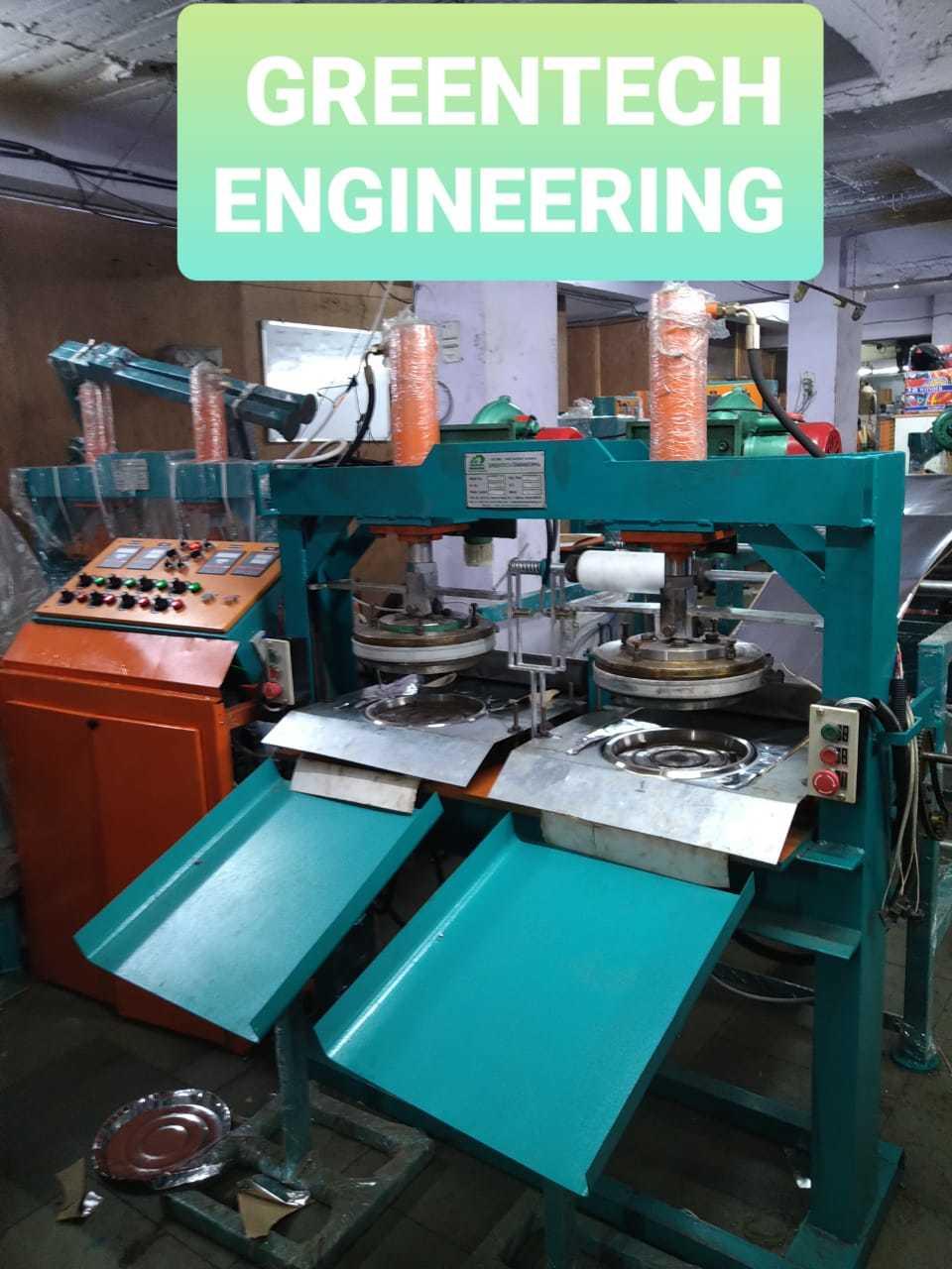 Fully Automatic Hydraulic Paper Thali Making Machine
