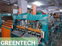 Fully Automatic Multipurpose Dona Thali Making Machine