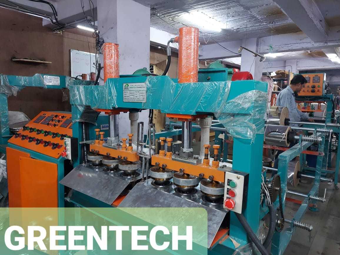 High Speed Paper Dona Making Machine