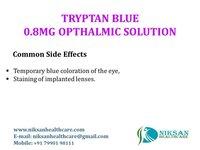 TRYPTAN BLUE 0.8MG OPTHALMIC SOLUTION