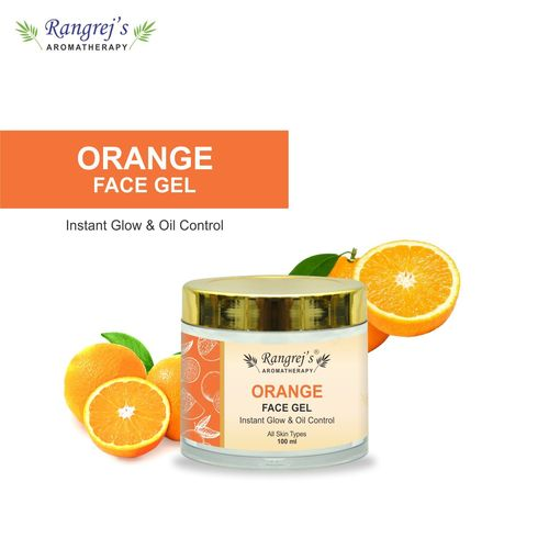 Rangrej's Aromatherapy Orange Face Gel Health and Beauty Care Products For Skin Lighten/Brighten/Glowing/Moisturizing Skin