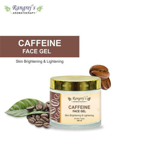 Rangrej's Aromatherapy Caffeine Face Gel Health and Beauty Care Products For Skin Lighten/Brighten/Glowing/Moisturizing Skin 100ml