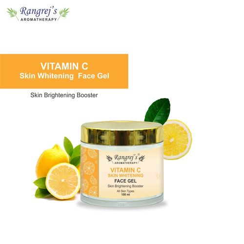 Rangrej's Aromatherapy Vitamin C Skin Whitening Face Gel Health and Beauty Care Products For Skin Lighten/Brighten/Glowing/Moisturizing Skin 100ml