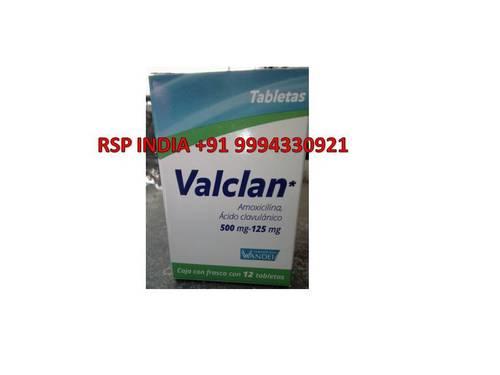 Valclan 500mg 125mg Tablet