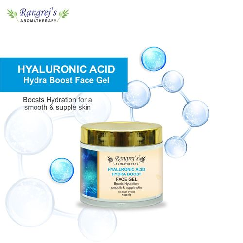 Rangrej's Aromatherapy Hyaluronic Acid Hydra Boost Face Gel Health and Beauty Care Products For Skin Lighten/Brighten/Glowing/Moisturizing Skin