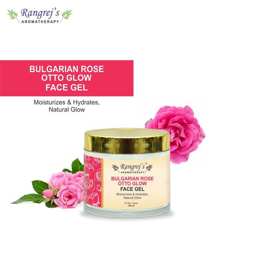 Rangrej's Aromatherapy Bulgarian Rose Otto Glow Face Gel Health And Beauty Care Products For Skin Lighten/brighten/glowing/moisturizing Skin 100ml