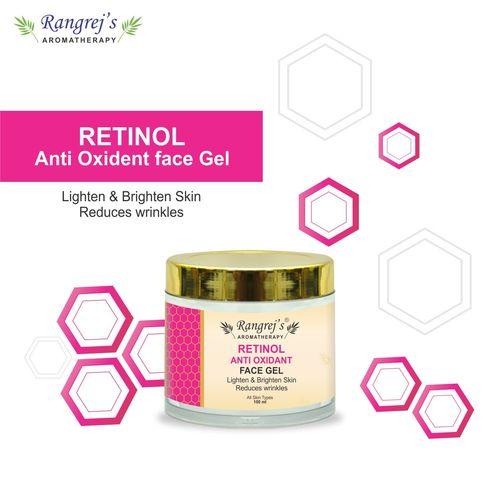 Rangrej's Aromatherapy Retinol Anti Oxidant Face Gel Health and Beauty Care Products For Skin Lighten/Brighten/Glowing/Moisturizing Skin 100ml