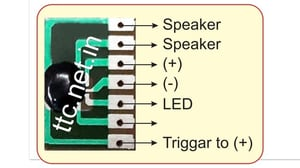 Tunes Melody Chip On Board COB IC for Buzzers, Car Reverse Horn, Motor Cycle Two Wheeler Horn