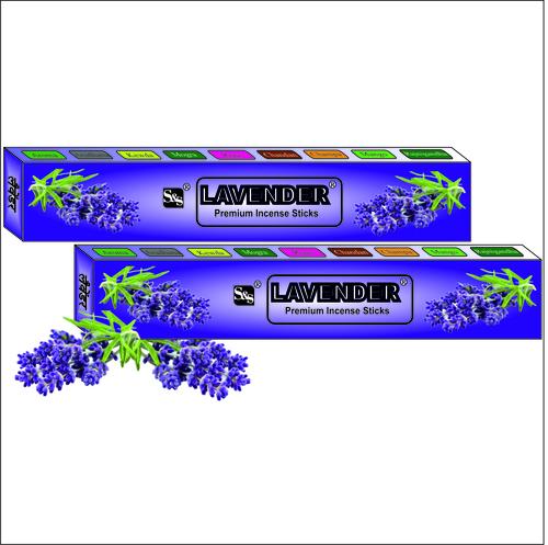 Premium Lavender Incense Sticks