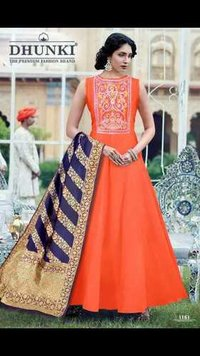 Dhunki Designer Ladies Gown