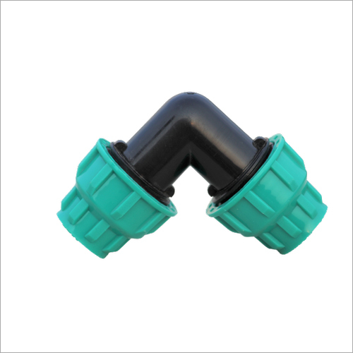 90 Degree PP Compression Fitting