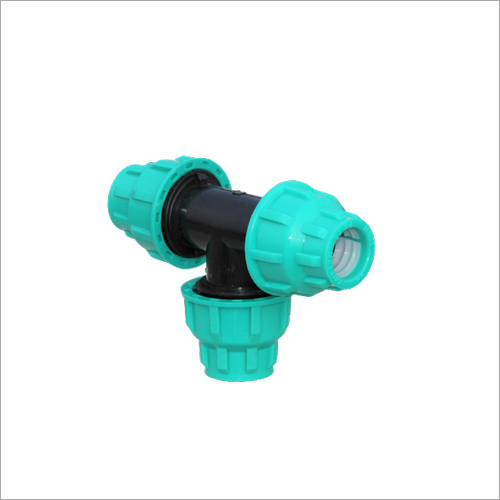 90 Degree Threaded Take-Off PP Compression Fitting