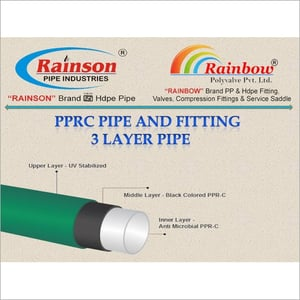 3 Layer PPRC Pipe