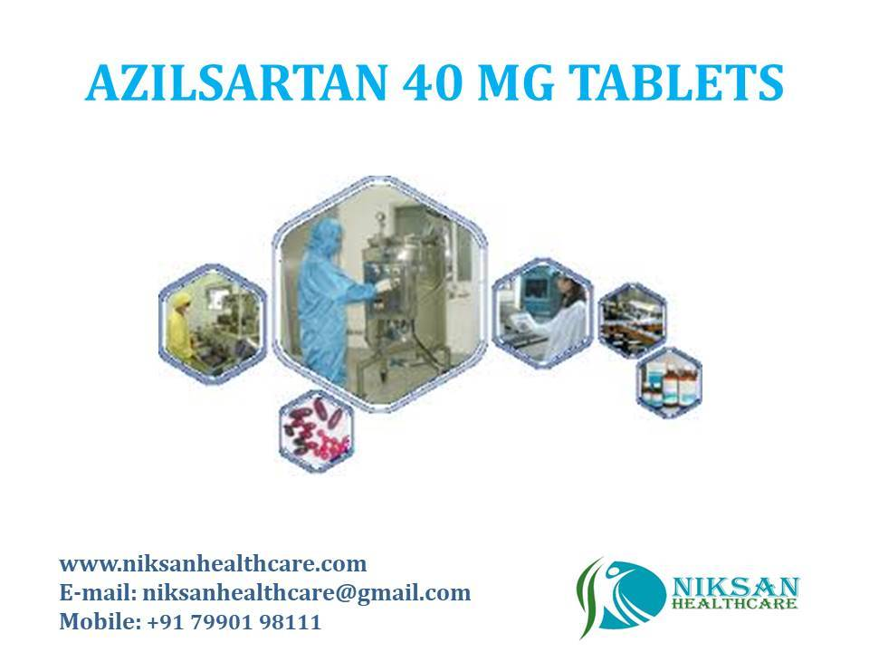 AZILSARTAN 40 MG TABLETS
