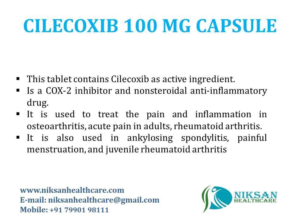 CELECOXIB 100 MG CAPSULE
