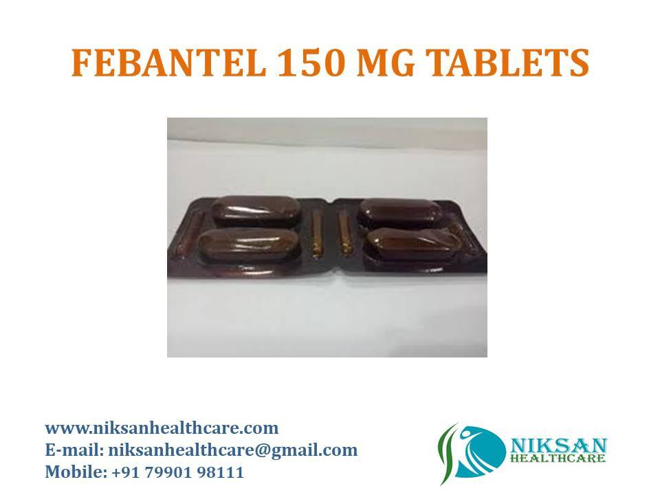 FEBANTEL 75 MG TABLETS