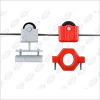Cable Carrier trolley metal cable clamping