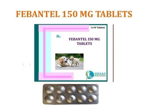 FEBANTEL 150 MG TABLETS