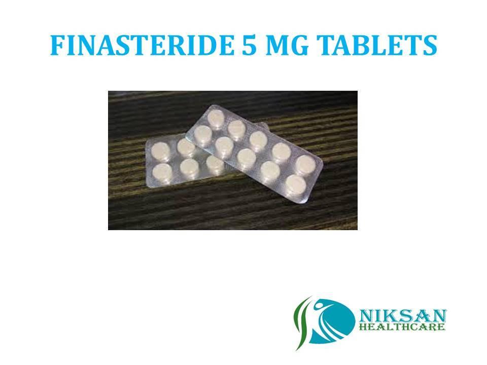 FINASTERIDE 5 MG TABLETS