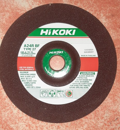 Hitachi Grinding Wheel 7 Inch
