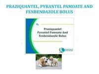 PRAZIQUANTEL, PYRANTEL PAMOATE AND FENBENDAZOLE BOLUS