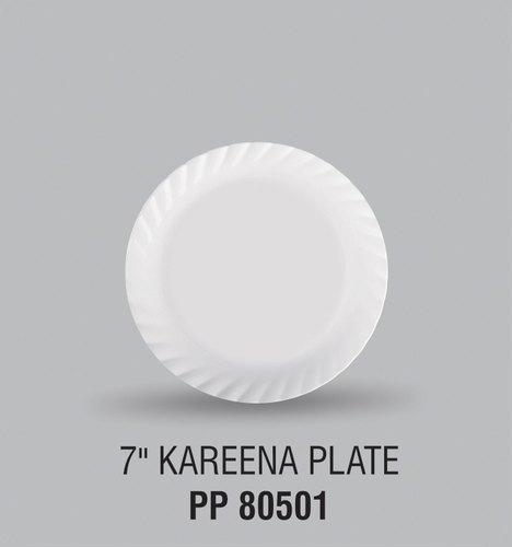 Quarter Plastic Plate Kareen