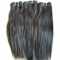 Smooth Straight Human Hair Extensions