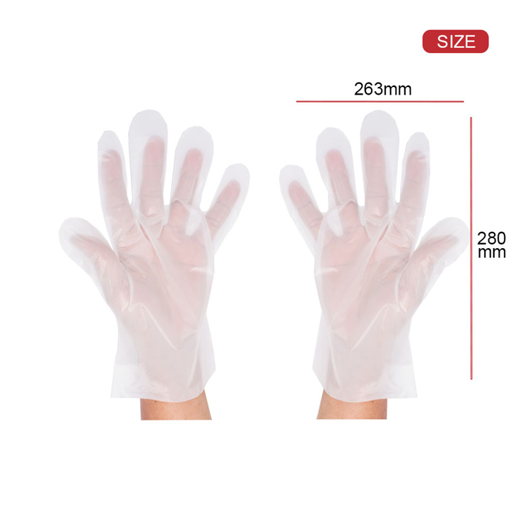 Thermoplastic Elastomer Disposable TPE Gloves