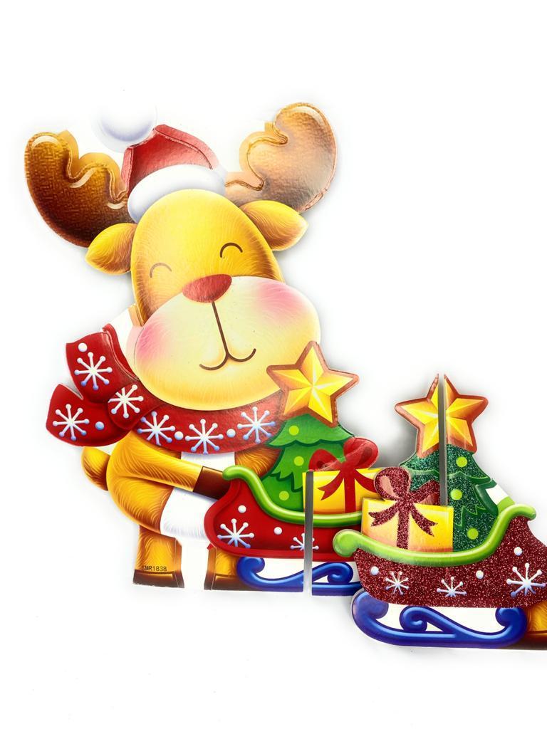 Christmas Decorative Poster Santa