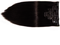 Indian Virgin Clip Human Hair