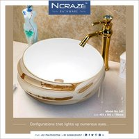 Round Shape wash  basin