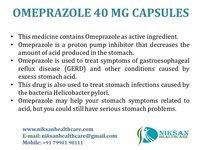 OMEPRAZOLE 40 MG CAPSULES