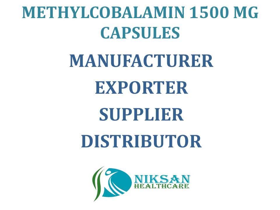 Methylcobalamin 1500 Mg Capsules