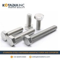 STAINLESS STEEL HEXAGONAL FULL THREADED BOLT/SCREW