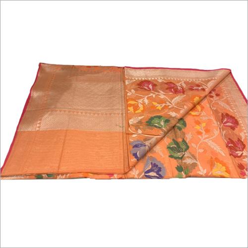 Ladies Organza Banarasi Saree