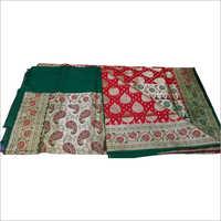 Ladies Multicolor Banarasi Saree