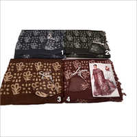 Ladies Fancy Linen-Organza Printed Saree