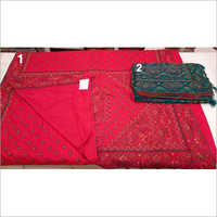 Ladies Fancy Gheecha Silk Work Saree
