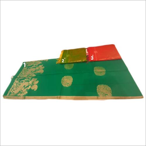 Ladies Fancy Handloom Silk Work Saree