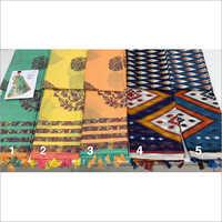 Ladies Fancy Jute Silk Work Saree