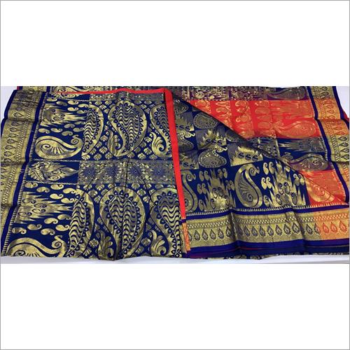 Ladies Fancy Kanjivaram Katan Work Saree