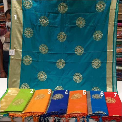 Ladies Fancy Silk Work Saree