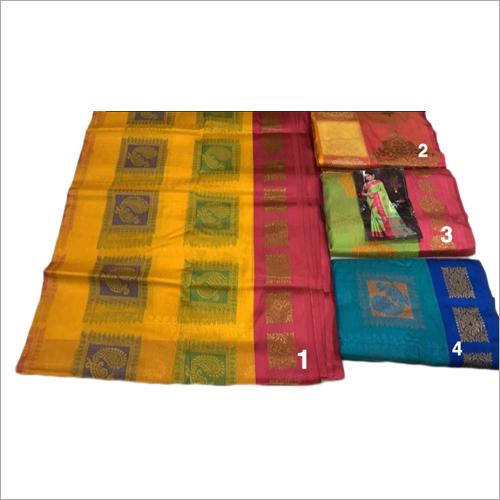 Ladies Fancy South Silk Work Saree