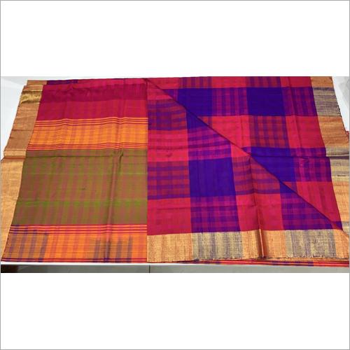 Ladies Pure Silk Plain Saree