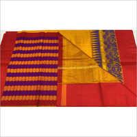Ladies Pure Chanderi Kuhuram Silk Work Saree