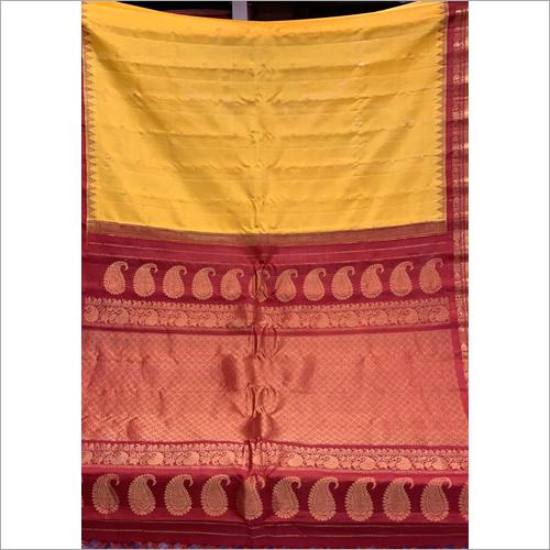 Ladies Pure Gadwal Silk Work Saree