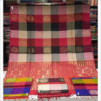 Ladies Pure Handloom Silk Work Saree