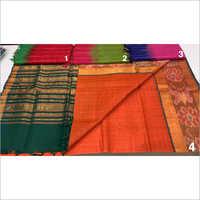 Ladies Pure Mangalgiri Silk Work Saree