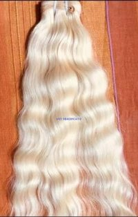 Blonde Virgin Human Hair