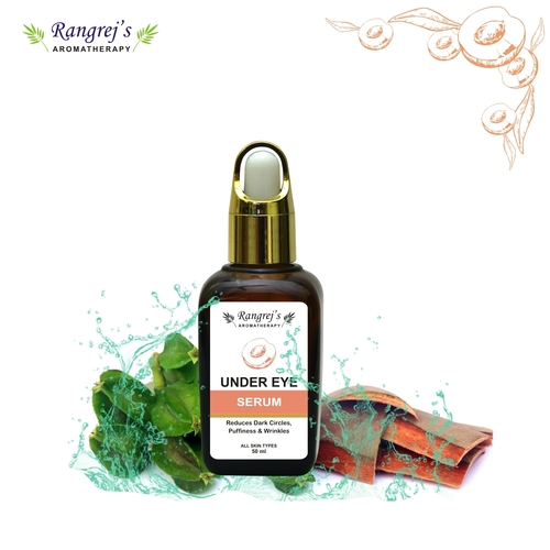 Rangrej's Aromatherapy Under Eye Serum,for Reduces Dark Circles,puffiness & Wrinkles,all Skin Types,50ml
